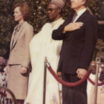 Bob arranged this visit with President Jimmy Carter & President Shagari