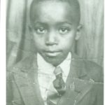 Bob as a young boy