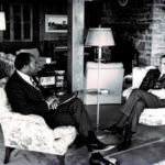 Bob at Camp David with President Nixon
