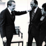 Bob with late wife Sallie and President Nixon - Exit Interview