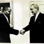 Bob & President Lyndon Johnson