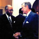 Bob & President GHW Bush