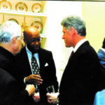 Bob with President Bill Clinton