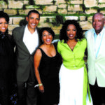 Bob with Oprah, President Barack Obama & First Lady Michelle Obama