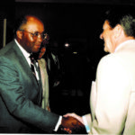 Bob with President Ronald Reagan