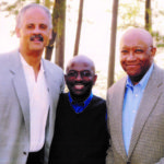 Bob, Stedman Graham and Armstrong Williams