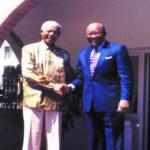 Bob & Nelson Mandela