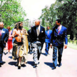 Bob meeting with Zulu King Goodwill Zwelithini