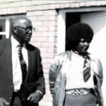 Bob meeting with Mrs. Winnie Mandela