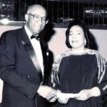 Bob and Mrs. Coretta Scott King