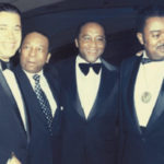 With late leaders Senator Edward Brooke, Mayor Walter Washington & businessman Willie Mason
