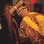 King Shotobi of Nigeria making Bob Brown an honorary Tribal Chief