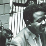 Escorting Rev. Ralph Abernathy and Rev. Joseph Lowery into the White House for a meeting with the President